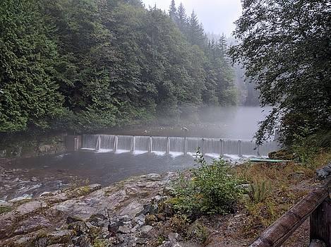 Capilano river hatchery falls by Jordan Barnes