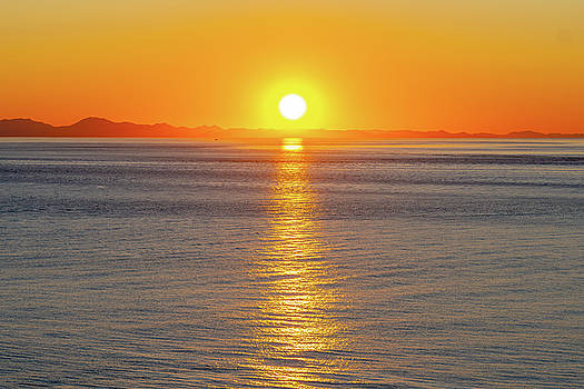 Captivating Sunset II by Debbie Ann Powell