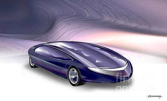 Car Design 01 by Christian Simonian