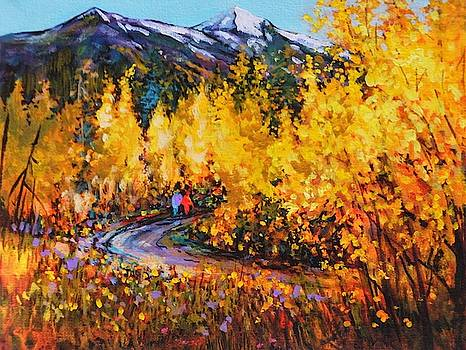 Carcross, Whitehorse, Y.T. by Catherine Robertson