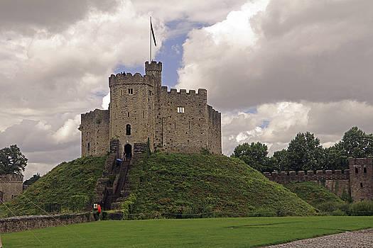 Cardiff Castle Keep by Tony Murtagh