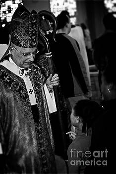 Cardinal Francis George Listens by Frank J Casella