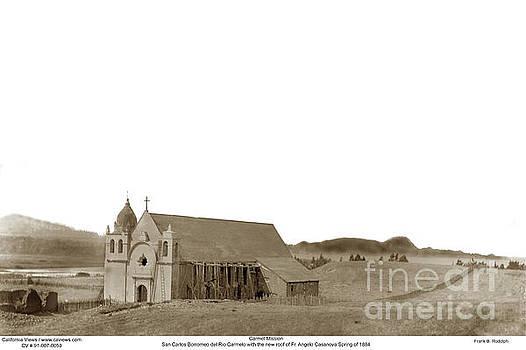 California Views Mr Pat Hathaway Archives - Carmel Mission Circa 1884