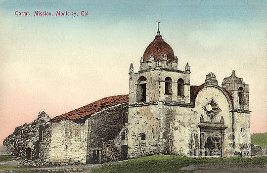 California Views Archives Mr Pat Hathaway Archives - Carmel Mission, Monterey, Cal. Circa 1880