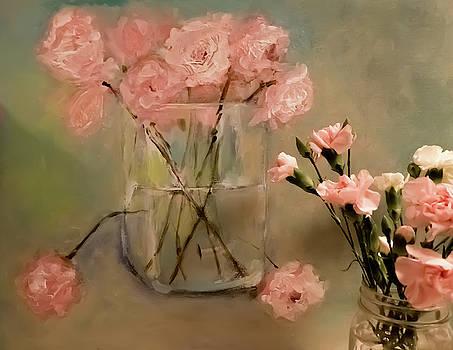 Carnation January Art by Lisa Kaiser