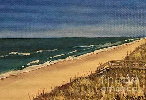Carolina Beach by Angela Stafford