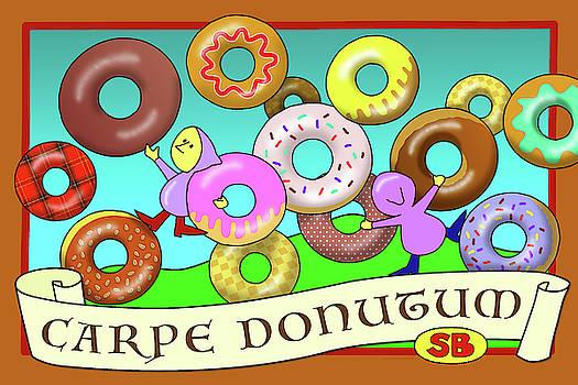 Carpe Donutum by Susan Bird Artwork
