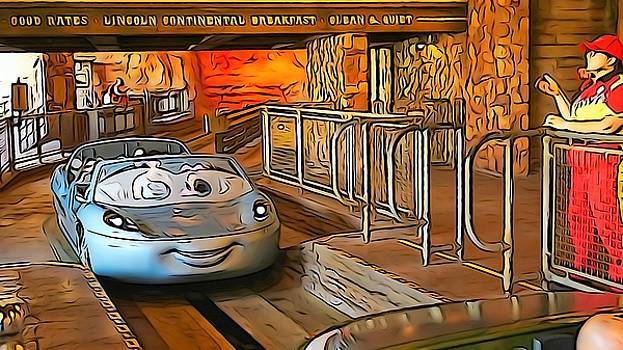 Carsland Comes To Life by Barkley Simpson