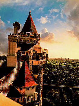 Casa Loma Tower View by Kathy Gail