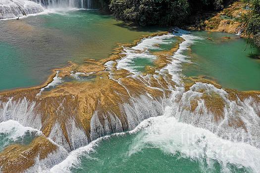 Cascadas de Agua Azul 4 by Randy Kostichka