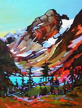 Cascade Peaks by Catherine Robertson