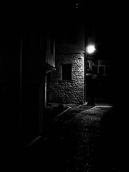 Alley in the Castle of Ioannina by Nicholas V K