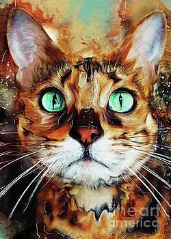 Justyna Jaszke JBJart - Cat Jasper #cat #cats #kitty