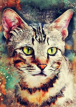 Justyna Jaszke JBJart - Cat Tiger art