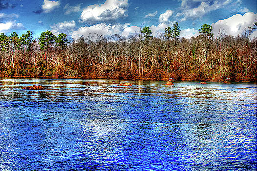 Catawba River Winter Day  by Andy Lawless