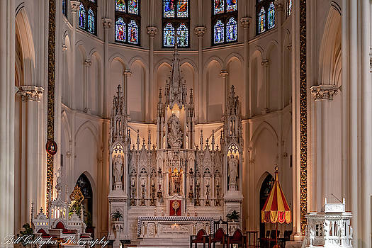 Cathedral Basilica of the Immaculate Conception by Bill Gallagher