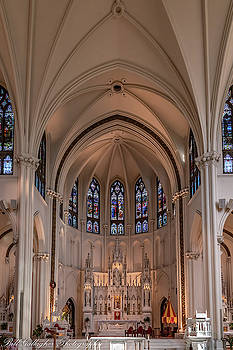 Cathedral Basilica Of The Immaculate Conception II by Bill Gallagher