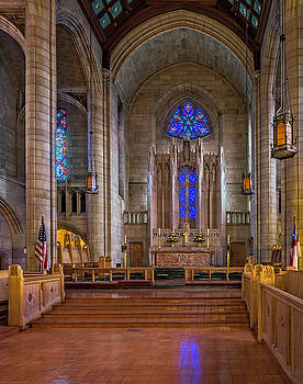 Cathedral Interior Number One by David Sams