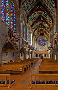 Cathedral Interior Number Two by David Sams