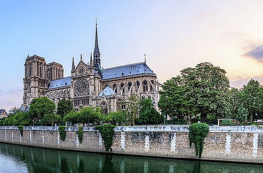 Cathedral of Notre Dame Paris France by Harmeet Gabha