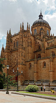 Cathedral of Salamanca by Sally Weigand