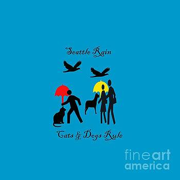 Cats and Dogs Rule by Carol Eliassen