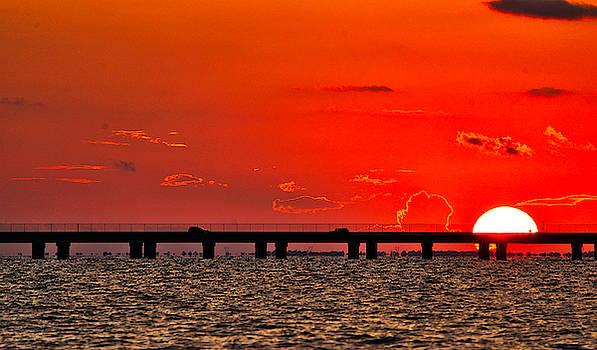 Causeway Sunset by Tom Gresham