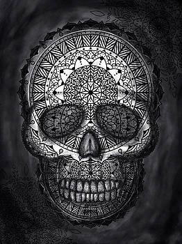 Caveira Mandala by Felipe Navega