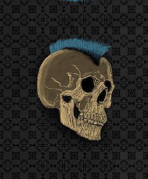 Caveira Punk by Felipe Navega