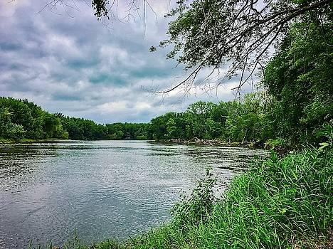 Cedar Bend Iowa by Dan Miller