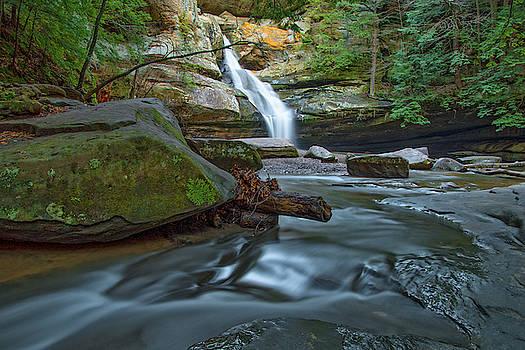 Cedar Falls, Hocking Hills SP, Ohio by Ina Kratzsch