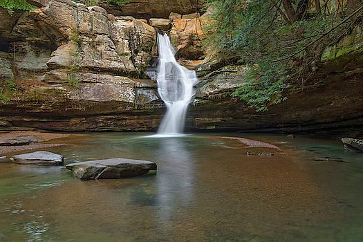 Cedar Falls, Hocking Hills State Park, OH by Ina Kratzsch