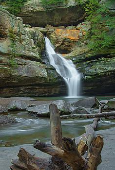 Cedar Falls, Hocking Hills State Park, Ohio by Ina Kratzsch