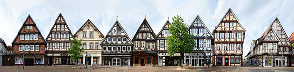 Celle Streetline Zoellnerstrasse by Joerg Dietrich