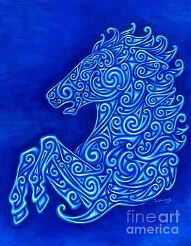 Celtic Horse by Rebecca Wang