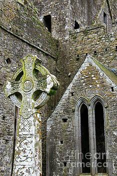 Bob Phillips - Celtic Stone Cross at Rock of Cashel One