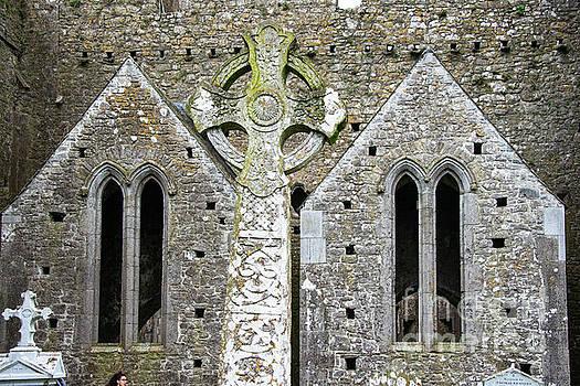 Bob Phillips - Celtic Stone Cross at Rock of Cashel Two