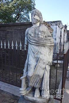 Susan Carella - Cemetery Statue - New Orleans