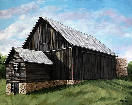 Centennial Barn by Linda Apple