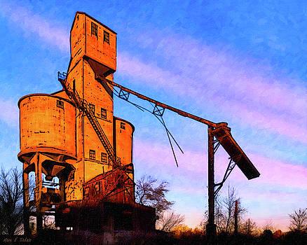Mark E Tisdale - Central Of Georgia Coaling Tower - Macon
