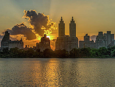 Central Park Sunset by Jeffrey Friedkin