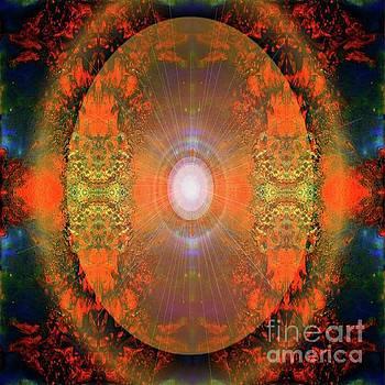 Central Sun by Sabine ShintaraRose Art