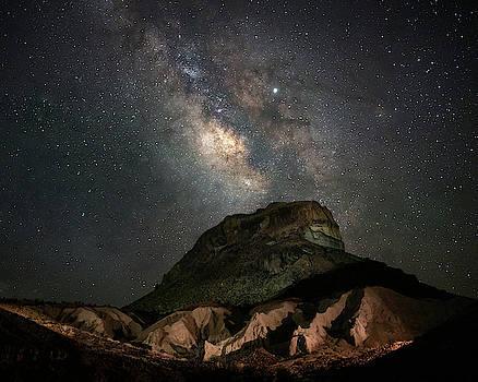 Cerro Castillano Milky Way  by Harriet Feagin