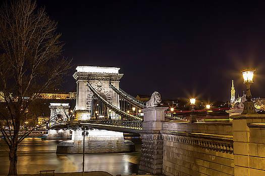 Chain Bridge at Night by Andrew Soundarajan