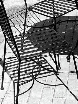 Sharon Williams Eng - Chair Shadows Black and White 300