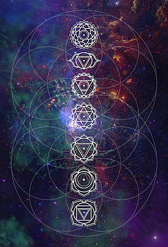 Chakras  by Nathalie DAOUT