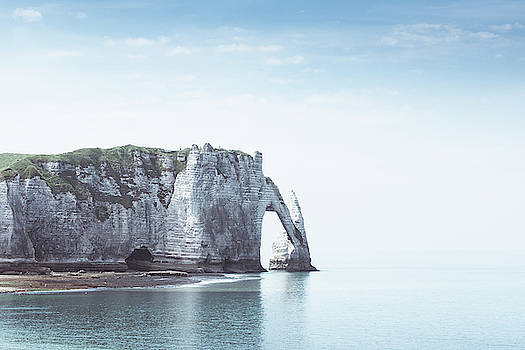 Chalk Cliffs Etretat by Dirk Wuestenhagen