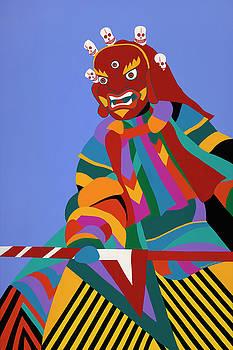 Cham Dancer Wrathful Deity by Synthia SAINT JAMES