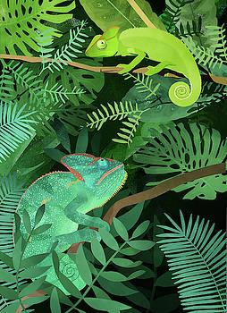 Chameleons by Goed Blauw