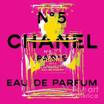 Chanel No 5 Pop Art - #3 by Jean luc Comperat